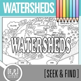 Watersheds Seek and Find Science Doodle Page