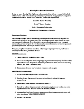 Watership Down Persuasive Presentation