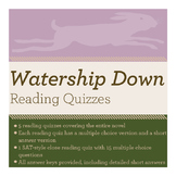 Watership Down Reading Quizzes