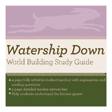 Watership Down World Building Study Guide