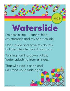 Waterslide - ide Word Family Poem of the Week