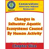 Waterway Habitat: Changes in Saltwater Aquatic Ecosystems By Human Activity