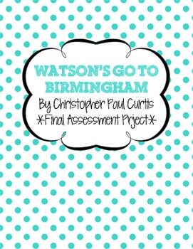 Watson's Go To Birmingham Final Assessment