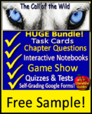 The Call of the Wild Novel Study - FREE Sample!