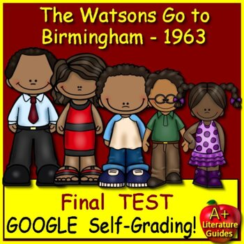 The Watsons Go to Birmingham Test - 25 Common-Core Aligned Questions + Key