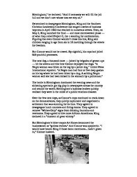 Watsons Go to Birmingham Informational Text (Supplemental)