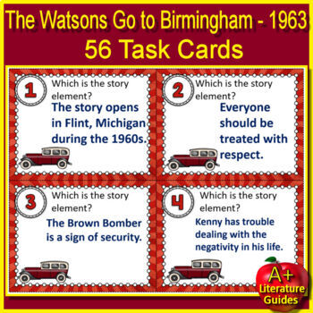 Watsons Go to Birmingham - 1963 Free Quiz Print AND Paperless Self-Grading