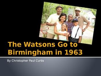Watsons Go to Birmingham in 1963 Unit