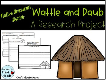 Wattle and Daub - Native American Home