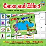 Cause and Effect Posters and Card Activity