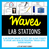 Wave Behaviors Lab Station Activity