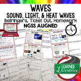 Wave Energy, Sound, Light, Heat Waves Warm Ups & Bell Ring