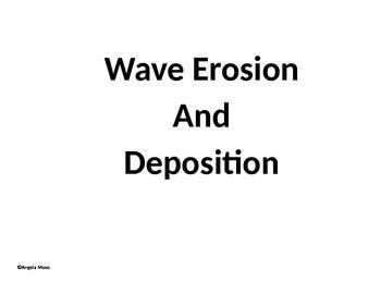 Wave Erosion Foldable