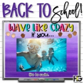 Wave Like Crazy   Stand Up Sit Down   Back to School Activities