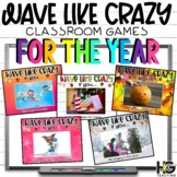 Wave Like Crazy! Stand Up Sit Down! Classroom Games FOR THE YEAR