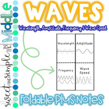 Wave Properties Foldable plus Notes