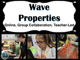 Wave Properties Science Stations | Blended Learning