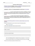 Wave Properties Webquest