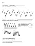 Wave Properties Worksheet