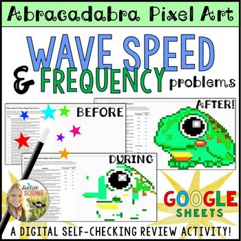Wave Speed Frequency Wavelength Problems Magic Pixel Picture Digital Review