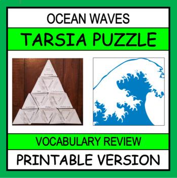 Wave Vocabulary Puzzle (Tarsia Puzzle)