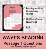 Waves Reading Passages and Questions (Distance Learning)