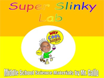 NGSS ES./MS./HS. Waves: Super Slinky Lab