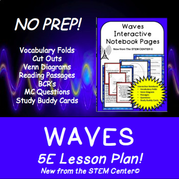 Waves 5 E Lesson Plan