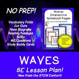 Waves 5 E Lesson Plan