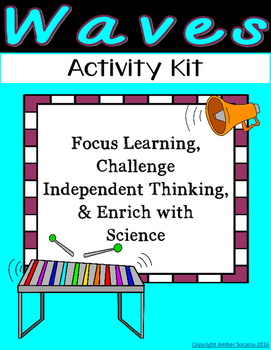 Fourth Grade NGSS - Waves Activities