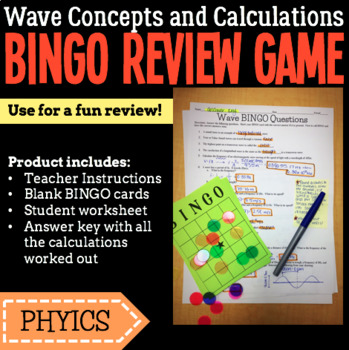 Waves: BINGO Review Game