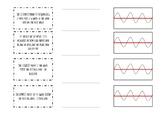 Waves Basic Vocabulary Foldable