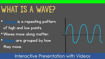 4th Grade NGSS Waves Bundle