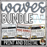 Waves Bundle - Properties, Light and Electromagnetic Spectrum Distance Learning