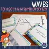 Properties of Waves Card Sort & Graphic Organizer