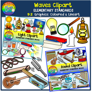 Waves Clipart (Light and Sound- Elementary Standards) by ...