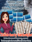 Waves, Currents and Tides Task Cards ~ Middle School Science