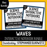 Waves (Light, Sound & EM Spectrum) Interactive Notebook Unit