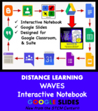 Waves Interactive Notebook Google Slides - Distance Learning Friendly