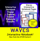 Waves Interactive Science Notebook - Distance Learning Friendly