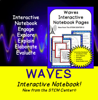 Waves Interactive Science Notebook