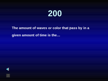 NGSS ES./MS./HS. Waves: Waves Jeopardy Game