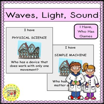 Waves Light Sound I Have, Who Has Games