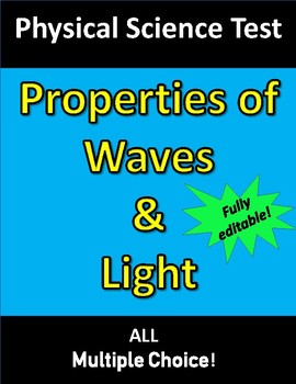 Waves & Light TEST (for Physical Science)