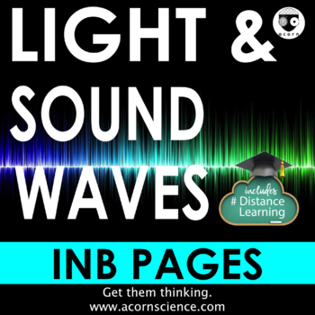 Waves Light and Sound Interactive Notebook