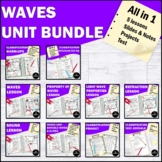 Waves- Light and Sound Interactive Notebook Bundle