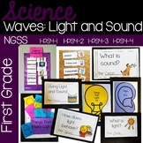 Waves: Light and Sound {NGSS 1-PS4-1, 1-PS4-2, 1-PS4-3, 1-PS4-4}