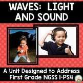 Waves:  Light and Sound NGSS 1st Grade 1-PS4