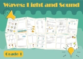 Waves (Light and Sound) Worksheets - NGSS