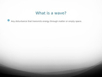 Waves-Longitudinal and Transverse